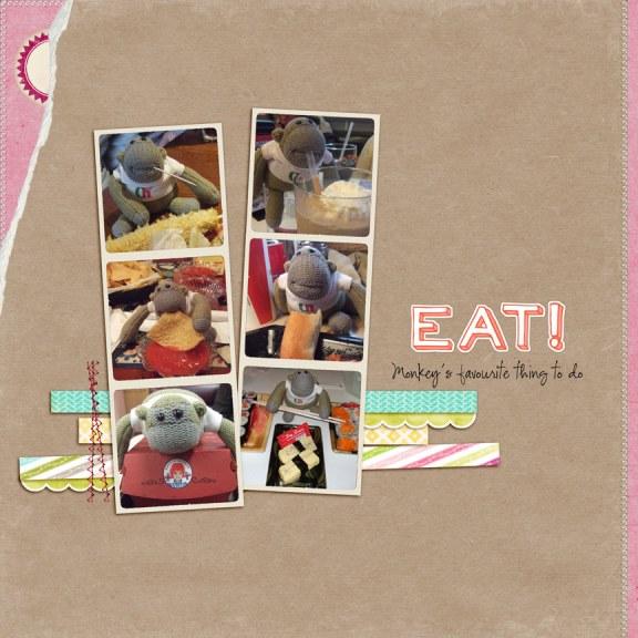 monkey-eat