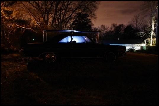 Eerie night lights