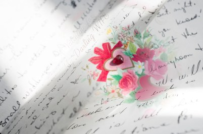 Love Letters with Valentine's Card