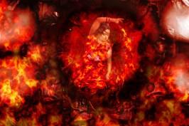 Fire Goddess ©Sharon Popek 2016