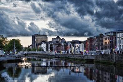 Dublin Sky at Sunset 1203sm