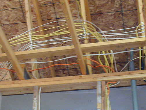 New Home Construction Internet Wiring