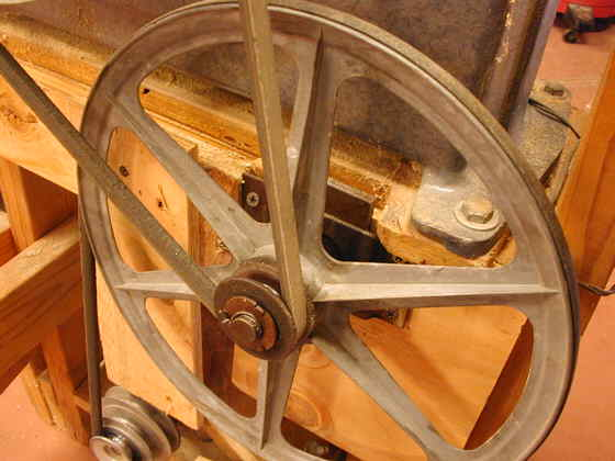 Bandsaw Pulley
