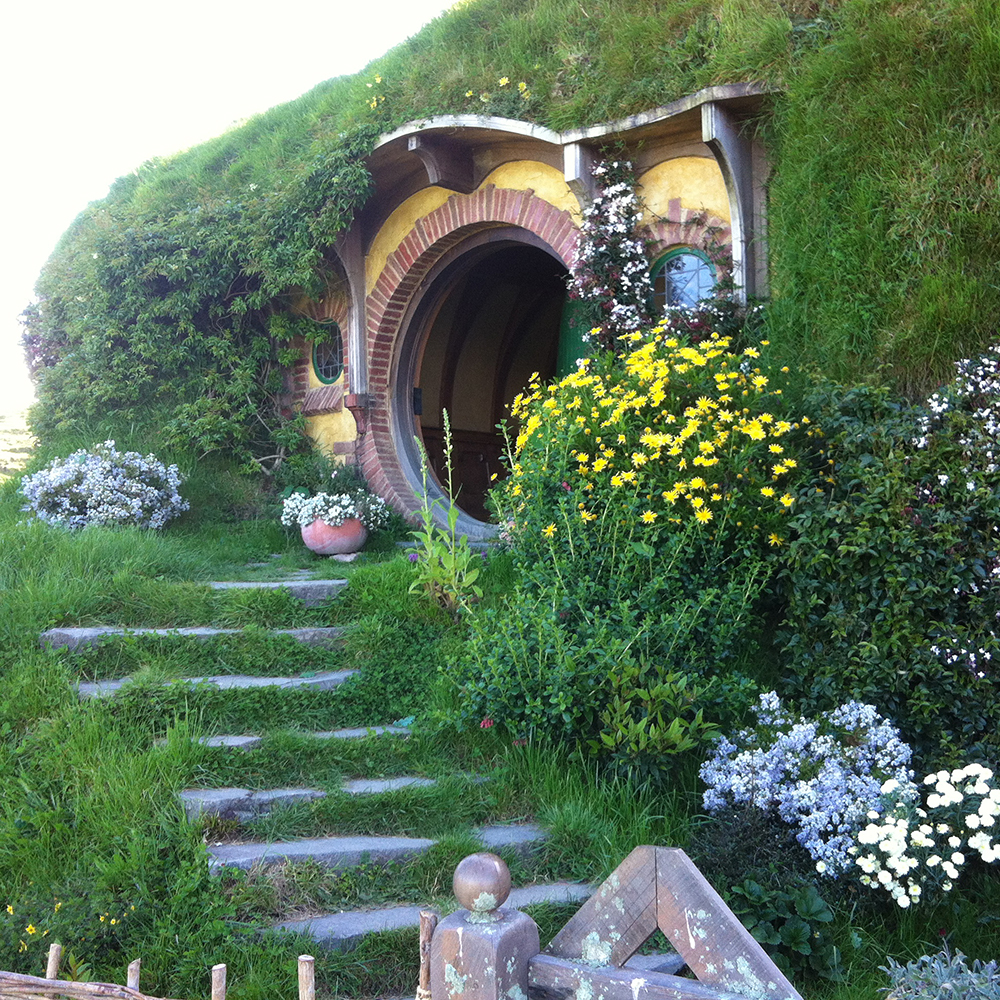 Visiting the hobbits in New Zealand