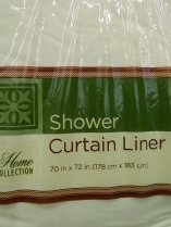 slob, humor, white shower liner