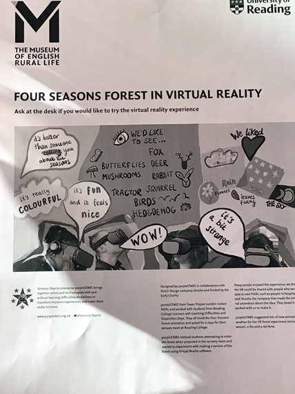 Poster to Try VR Experience