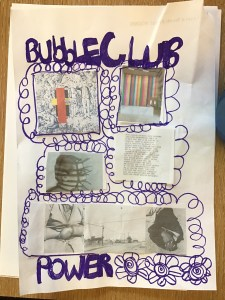 Samantha's design ideas for Bubble Club Power