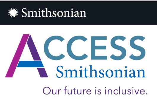 Logo of Access Smithsonian