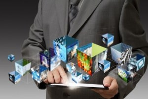 Top business apps. Purple tie guys