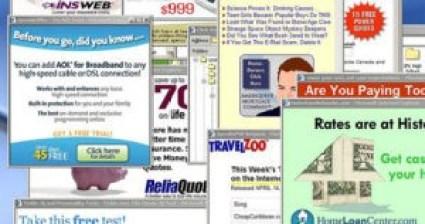 internet marketing, pop ups