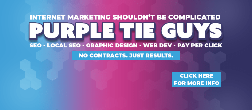 Purple Tie Guys Facebook Header