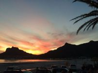 Beautiful Sunset overlooking Hout Bay (Cape Town, South Africa)