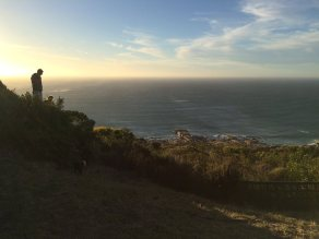 Beautiful Cape Town and the lovely new bride and groom