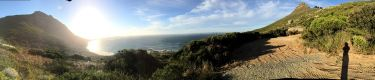 Beautiful view above Sandy Bay in Cape Town, South Africa (HOME!)