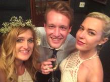 Me, Steven and Cassie at my Brother's wedding