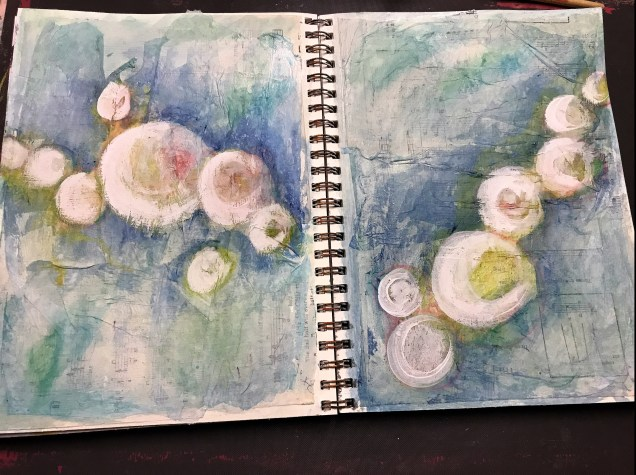 Art Journal Prompt Page