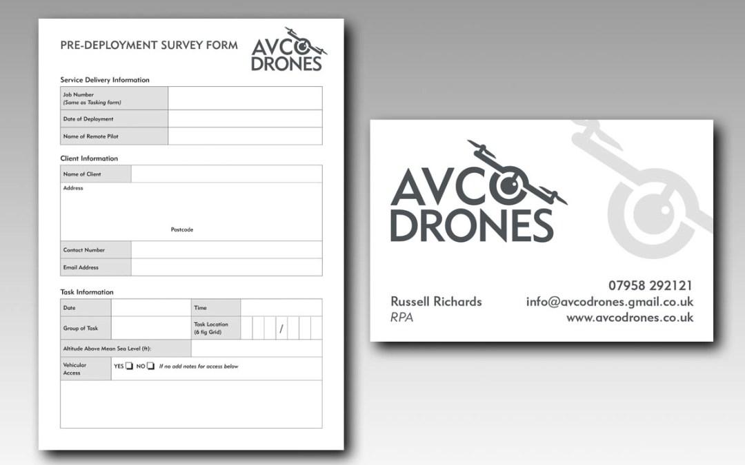 AVCO Drones Branding