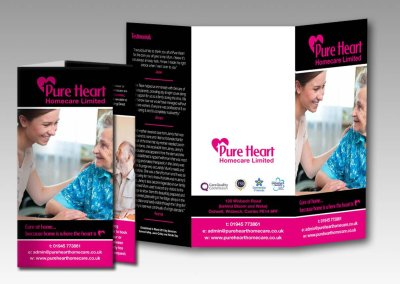 Pure Heart Healthcare Branding