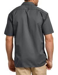 Short Sleeve Work Shirt (Charcoal)