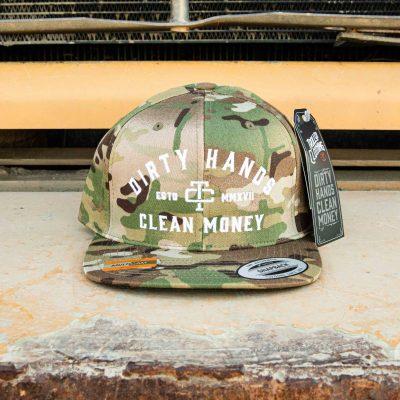 DHCM Snapback (Desert Camo)