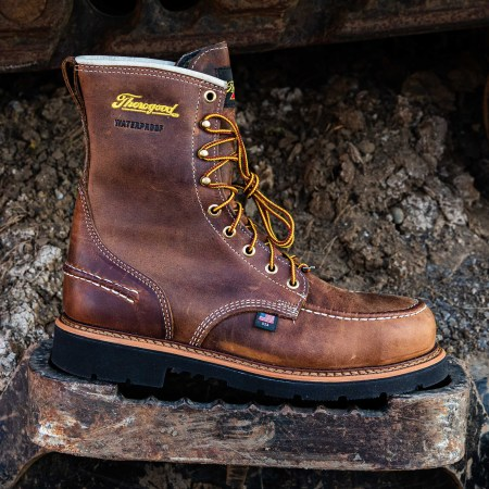 1957 SERIES – WATERPROOF – 8″ CRAZYHORSE MOC TOE – MAXWEAR90 (STEEL TOE)