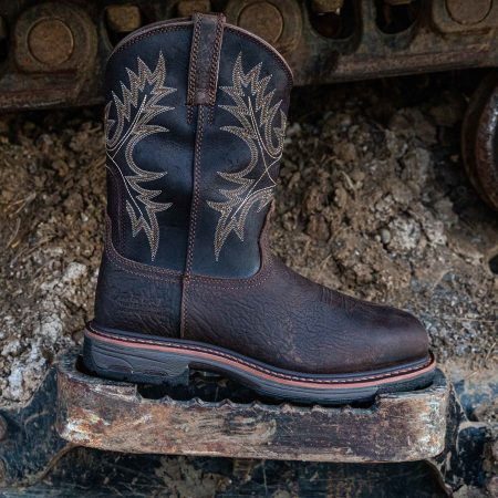 WorkHog Square Toe Work Boot (Comp Toe)