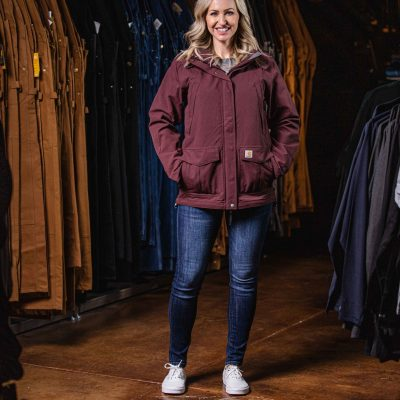 Women's Shoreline Jacket (Deep Wine)