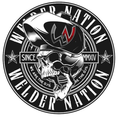 Raging Sticker (Welder Nation)