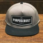 The Badge Snapback (Black/Red)