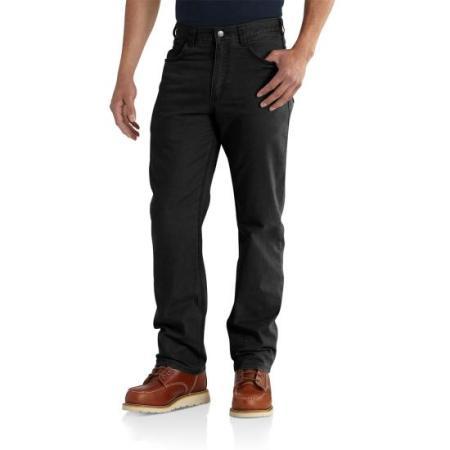 Rugged Flex Rigby 5-Pocket Work Pant (Black)