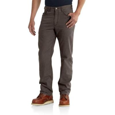 Rugged Flex Rigby 5-Pocket Work Pant (Dark Coffee)