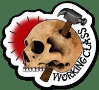 Working Class Sticker