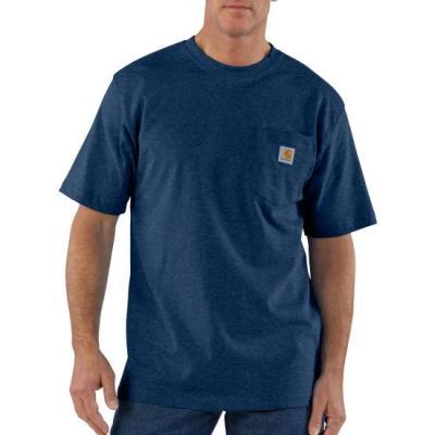 Workwear Pocket T-Shirt (Cobalt Blue)