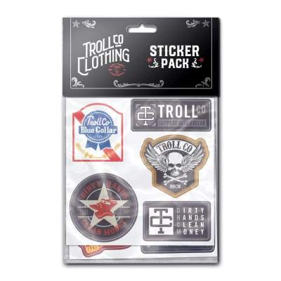 Rebel Hard Hat Sticker Pack