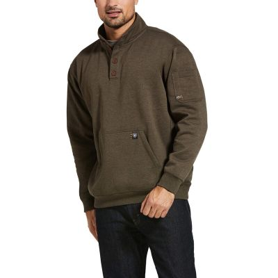 REBAR OVERTIME SWEATSHIRT -BROWN