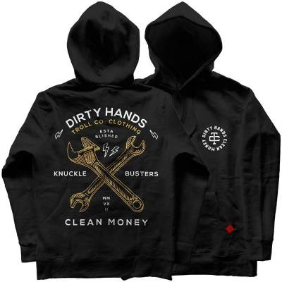 Twisted Wrenches Hoodie – Black