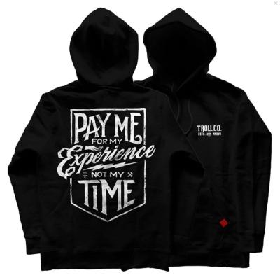 Pay Me Hoodie – Black