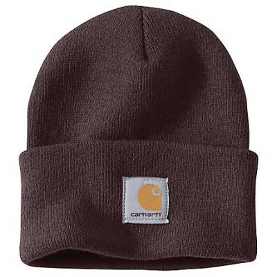 ACRYLIC WATCH HAT (DARK BROWN)
