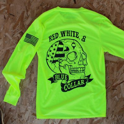 SKULLY Long Sleeve – LIME