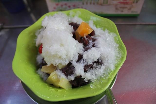 A very cold, creamy dessert, June 4, 2016