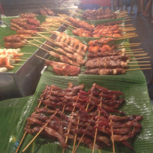 Meat stick heaven, September 11, 2016