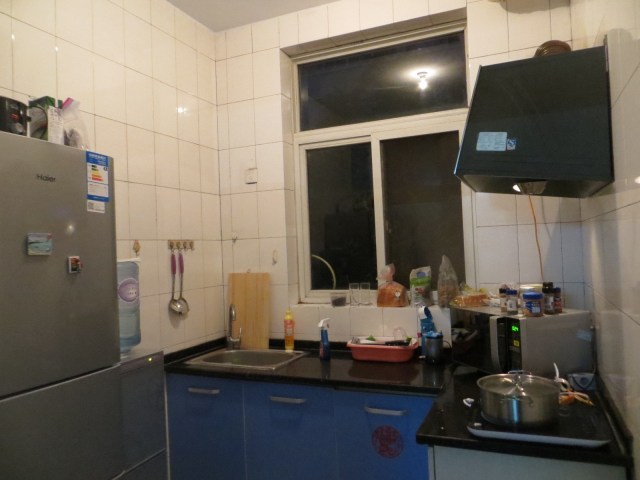 After photo of kitchen, October 23, 2016
