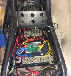 cafe racer electrics tray led flasher unit solid state switching motorcycle wiring [ 1536 x 2048 Pixel ]
