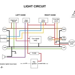 Simple Harley Wiring Diagram For Motorcycles 91 Honda Civic Ignition Switch Motorcycle Electrics 101 Re Your Cafe Racer