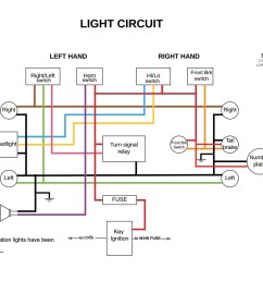 motorcycle electric starter wiring diagram [ 1173 x 829 Pixel ]