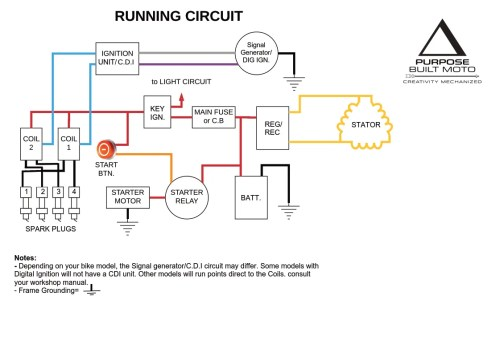 small resolution of that s your charging and running circuit sorted the easy part now work on
