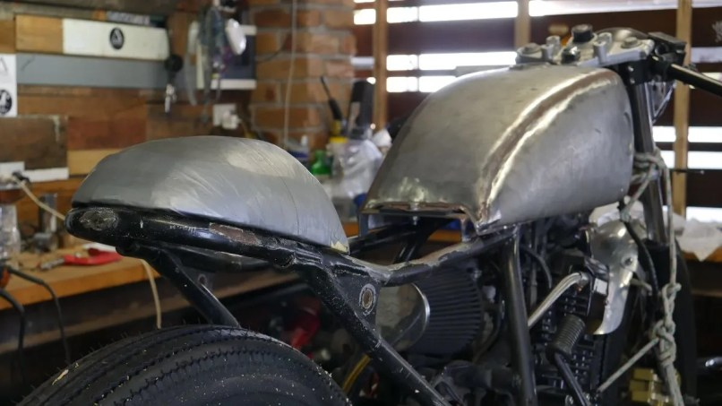 Making A Cafe Racer Tail Piece Parts