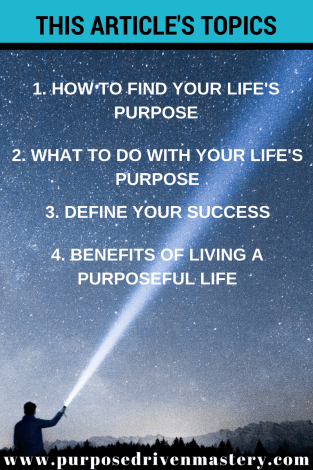 Purpose - Purpose Driven Mastery