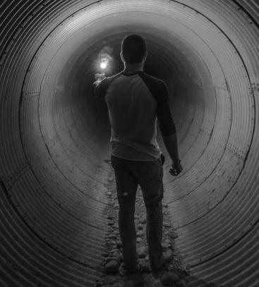 Porn and Masturbation Tunnel
