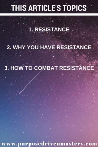 Resistance - Purpose Driven Mastery